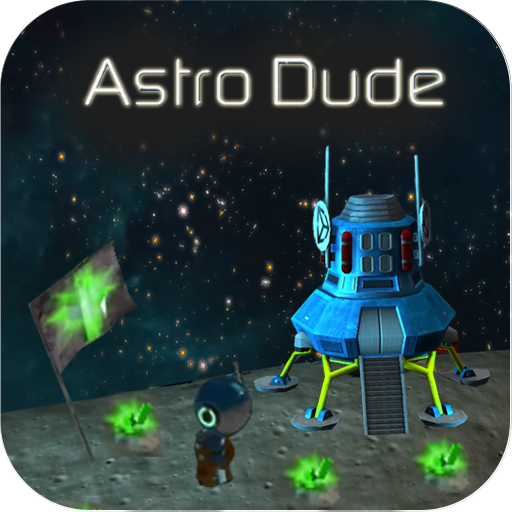 Astro Dude AR game